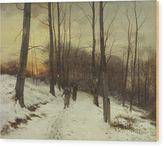 Malvern Woods  Wood Print