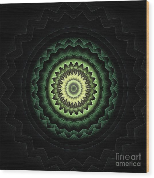 Mandala 24 Wood Print