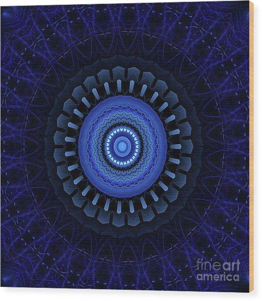 Mandala 27 Wood Print
