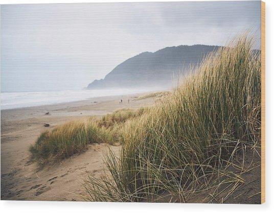 Manzanita Beach Wood Print