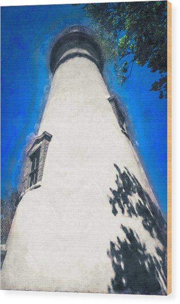 Marblehead Ohio Light Wood Print