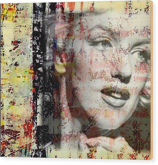 Marilyn Monroe 2 Wood Print