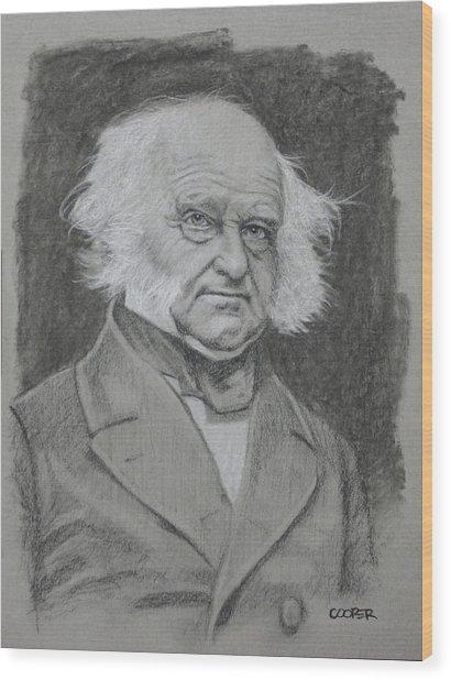 Martin Van Buren Wood Print
