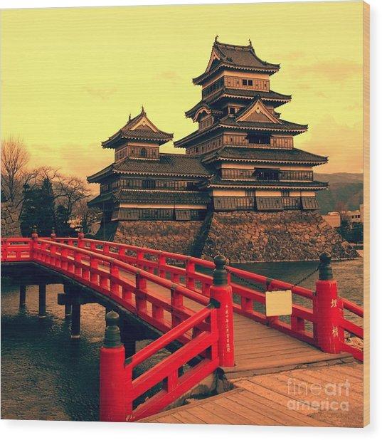 Matsumoto Castle, Japan Wood Print