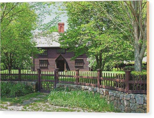 Matthew Whipple House Wood Print