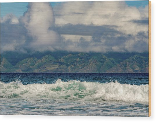 Maui Breakers II Wood Print