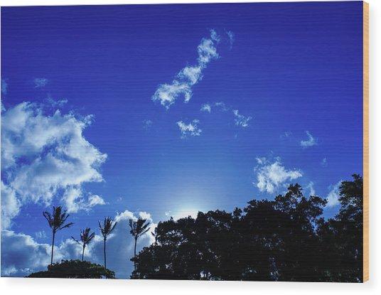 Maui Sky Wood Print