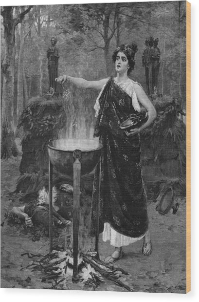 Medea Wood Print by Hulton Archive