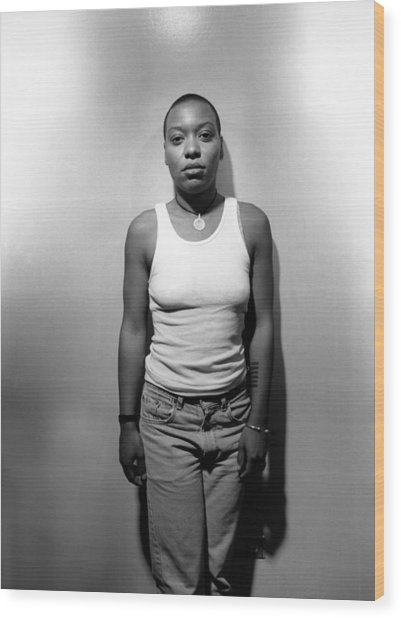 Meshell Ndegeocello In Chicago Wood Print