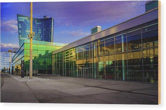 Messe Wien Wood Print