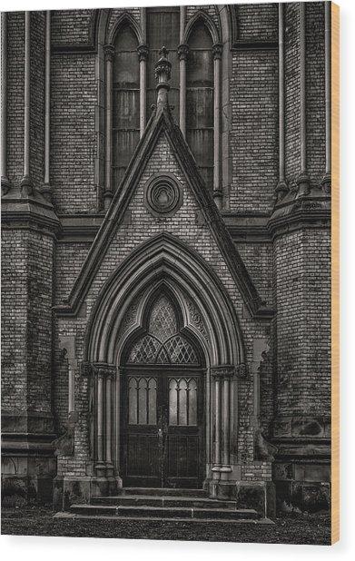 Wood Print featuring the photograph Metropolitan United Church Toronto Canada 7 by Brian Carson