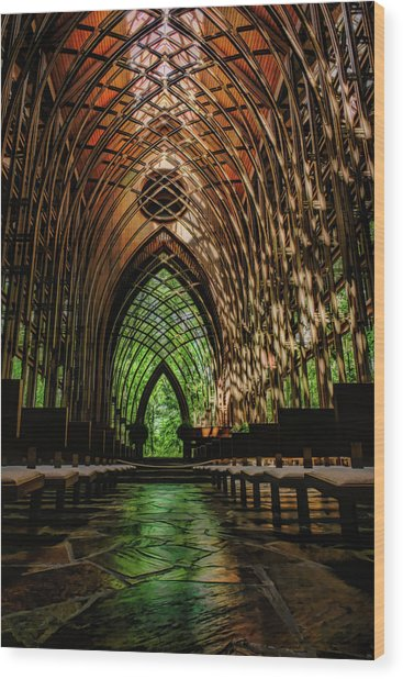 Mildred B. Cooper Memorial Chapel Wood Print