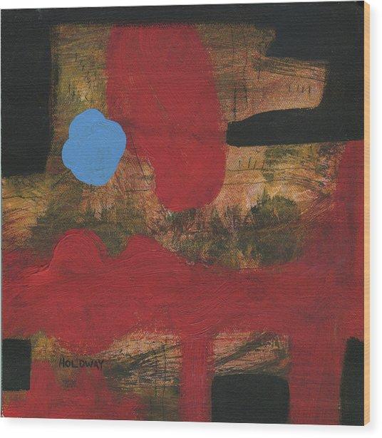Mind Maze 3 Wood Print