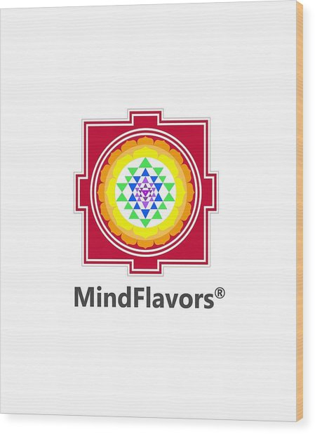 Mindflavors Original Small Wood Print