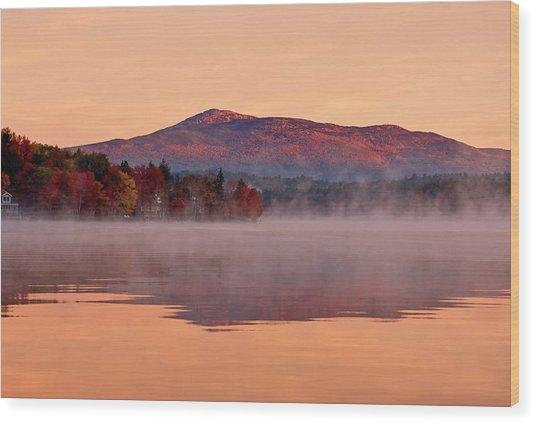 Monadnock Sunrise Wood Print