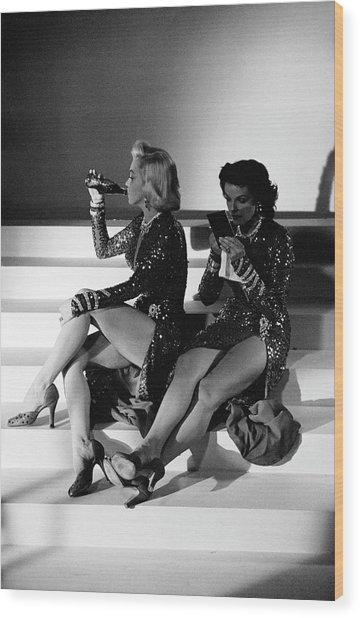 Monroe & Russell Wood Print