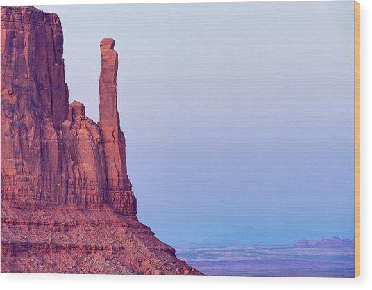 Monument Valley Navajo Tribal Park Wood Print