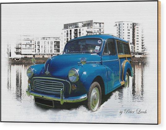 Morris Super Minor Wood Print