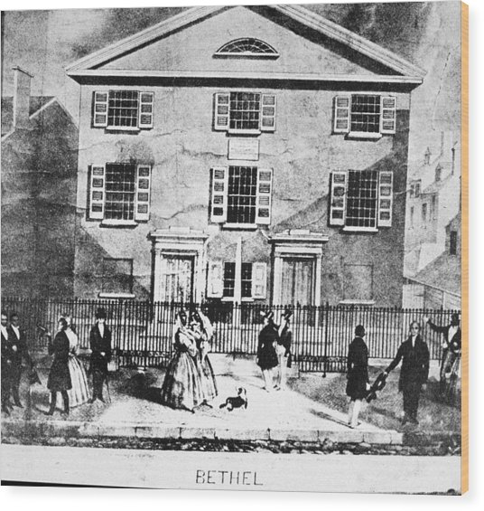 Mother Bethel Ame Black Church - Wood Print by Kean Collection