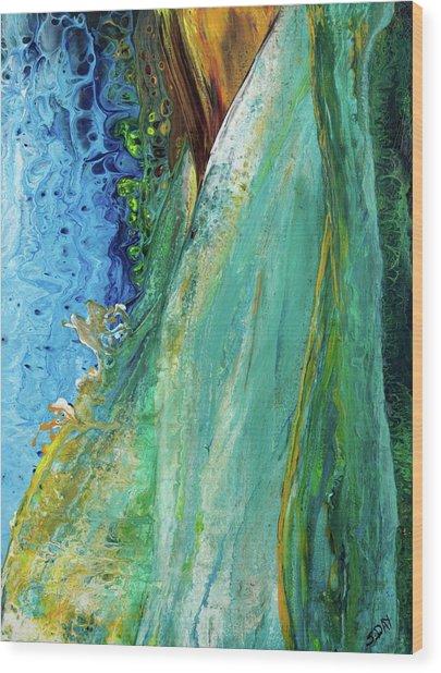 Mother Nature - Portrait View Wood Print