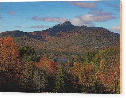 Mount Chocorua New Hampshire Wood Print