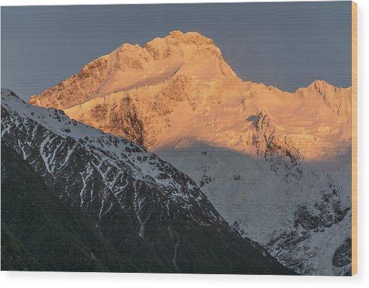 Mount Sefton Sunrise Wood Print