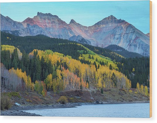 Wood Print featuring the photograph Mountain Trout Lake Wonder by James BO Insogna