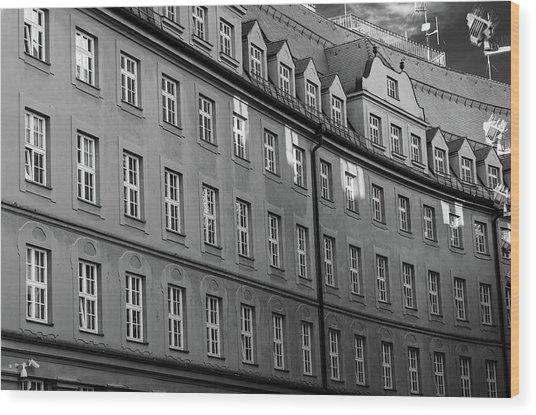Munich Police Headquarters Wood Print