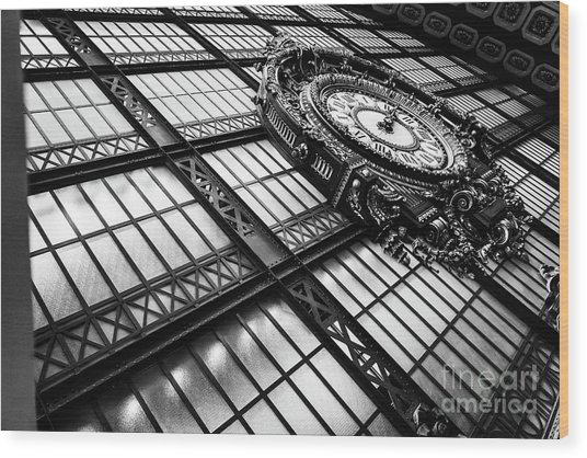 Wood Print featuring the photograph Musee D'orsay by Miles Whittingham
