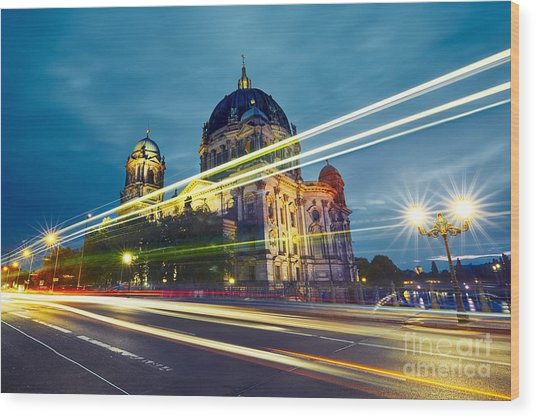 Museum Island With Berlin Cathedral - Wood Print