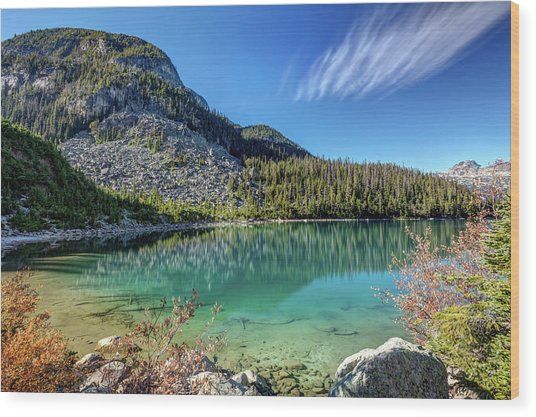Wood Print featuring the photograph Natural Splendor Of The Joffre Lakes by Pierre Leclerc Photography