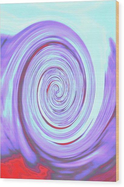 Nautilus Iv - Reverse Wood Print
