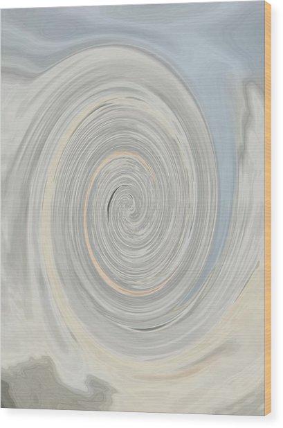 Nautilus I - Reverse Wood Print