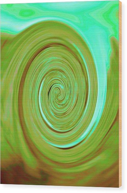 Nautilus V Wood Print