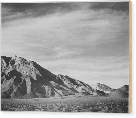 Near Death Valley Wood Print