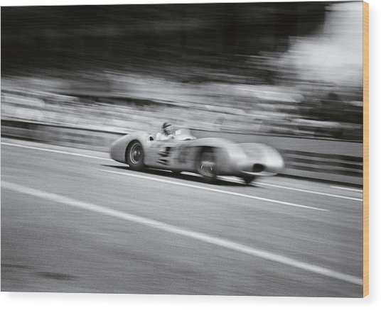 Need For Speed Wood Print by Joseph Mckeown
