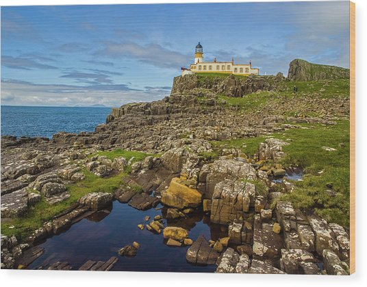 Neist Point Lighthouse No. 2 Wood Print