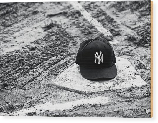 New York Yankees Home Wood Print