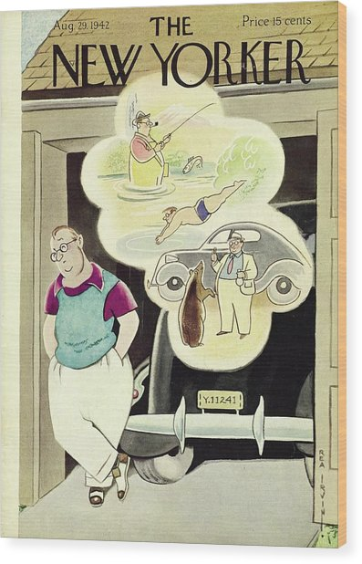 New Yorker August 29th 1942 Wood Print