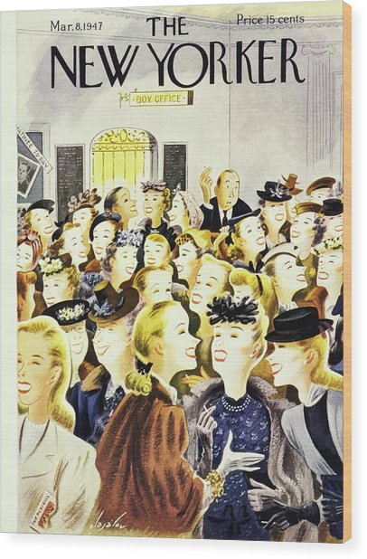 New Yorker March 8th 1947 Wood Print