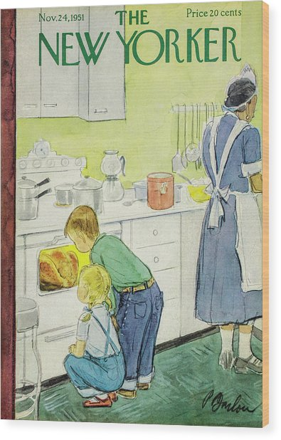 New Yorker November 24, 1951 Wood Print