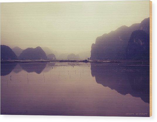 Ninh Binh Wood Print