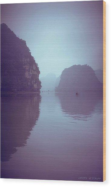 Ninh Binh River Wood Print