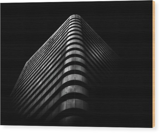 Wood Print featuring the photograph No 1 Dundas St W Toronto Canada 3 by Brian Carson