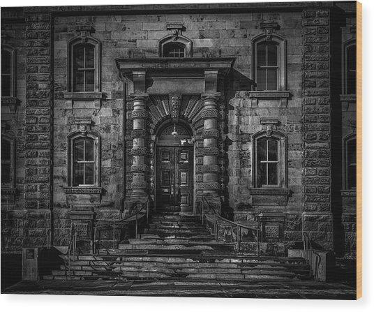 No 550 Gerrard St E Toronto Canada 2 Wood Print