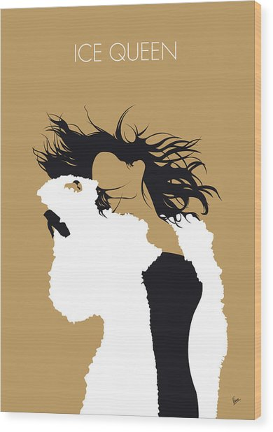 No240 My Within Tempation Minimal Music Poster Wood Print