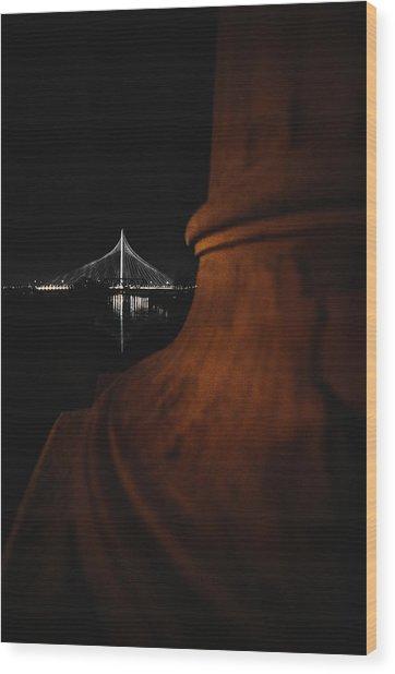 Noir Dallas Wood Print