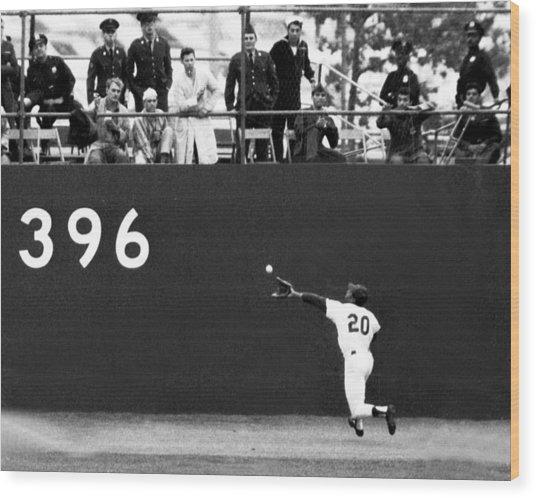 N.y. Mets Vs. Baltimore Orioles. 1969 Wood Print