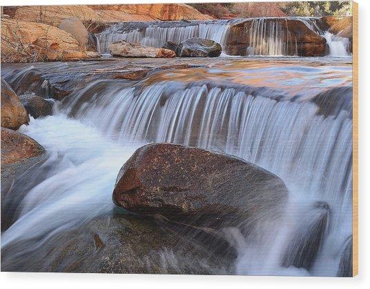 Oak Creek, Sedona Wood Print