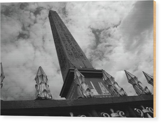 Wood Print featuring the photograph Obelisk by Edward Lee